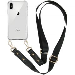 iMoshion Backcover met strap iPhone Xs / X - Transparant