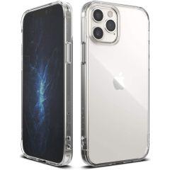 Ringke Fusion Backcover iPhone 12 (Pro) - Transparant