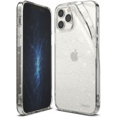 Ringke Air Backcover iPhone 12 Pro Max - Transparant Glitter
