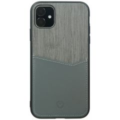 Valenta Card Slot Backcover iPhone 11 - Grijs