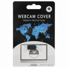 Zwart Webcam Cover