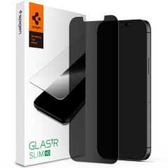 Spigen GLAStR Privacy Screenprotector iPhone 12 (Pro)