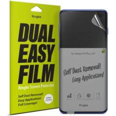 Ringke Dual Easy Screenprotector Duo Pack Samsung Galaxy S10 Plus