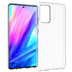 Accezz Clear Backcover Samsung Galaxy A52 - Transparant