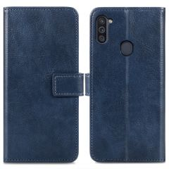 iMoshion Luxe Booktype Samsung Galaxy M11 / A11 - Donkerblauw