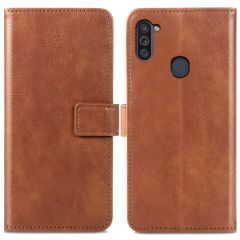 iMoshion Luxe Booktype Samsung Galaxy M11 / A11 - Bruin