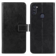iMoshion Luxe Booktype Samsung Galaxy M11 / A11 - Zwart