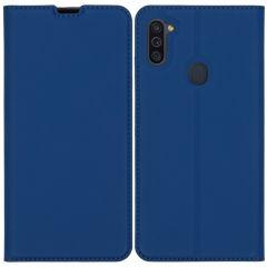 iMoshion Slim Folio Book Case Samsung Galaxy M11 / A11 - Donkerblauw