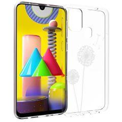 iMoshion Design hoesje Samsung Galaxy M31 - Paardenbloem - Wit