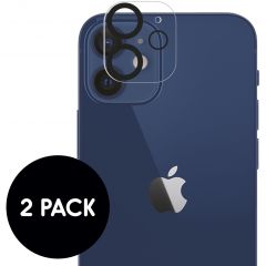 iMoshion Camera Protector Glas 2 Pack iPhone 12
