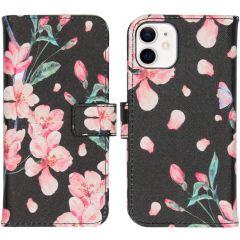 iMoshion Design Softcase Book Case iPhone 12 Mini