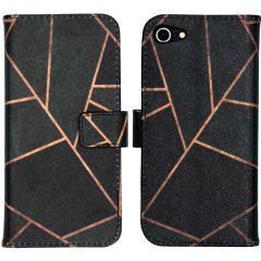 iMoshion Design Softcase Book Case iPhone SE (2020) / 8 / 7
