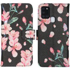 iMoshion Design Softcase Book Case Galaxy A21s