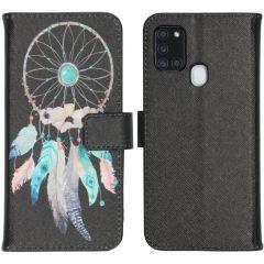 iMoshion Design Softcase Book Case Samsung Galaxy A21s - Dreamcatcher