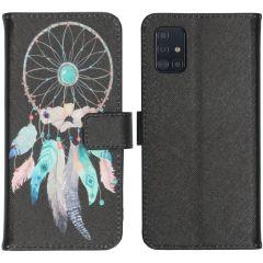 iMoshion Design Softcase Book Case Samsung Galaxy A51 - Dreamcatcher