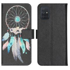 iMoshion Design Softcase Book Case Samsung Galaxy A71 - Dreamcatcher