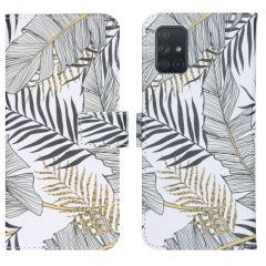 iMoshion Design Softcase Book Case Galaxy A71 - Glamour Botanic