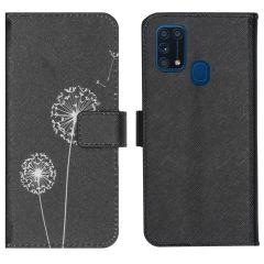 iMoshion Design Softcase Book Case Samsung Galaxy M31 - Dandelion