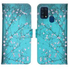 iMoshion Design Softcase Book Case Samsung Galaxy M31 - Blossom