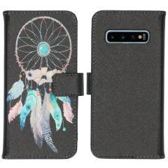iMoshion Design Softcase Book Case Samsung Galaxy S10 - Dreamcatcher