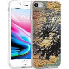 iMoshion Design hoesje iPhone SE (2020) / 8 / 7 / 6s - Grafisch-Bloem