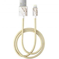 Fashion Lightning naar USB kabel - 1 meter - Carrara Gold