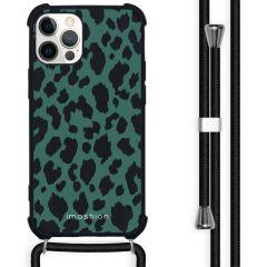 iMoshion Design hoesje met koord iPhone 12 Pro Max - Luipaard