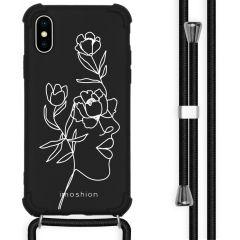 iMoshion Design hoesje met koord iPhone X / Xs