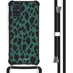 iMoshion Design hoesje met koord Samsung Galaxy A51 - Luipaard
