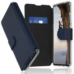 Accezz Xtreme Wallet Booktype Samsung Galaxy S20 FE - Donkerblauw