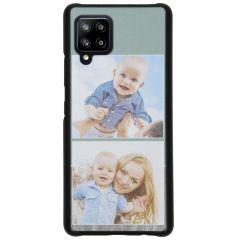 Ontwerp je eigen Samsung Galaxy A42 hardcase hoesje - Zwart