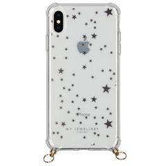 My Jewellery Design Softcase Koordhoesje iPhone Xs / X - Stars