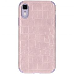 My Jewellery Croco Softcase Backcover iPhone Xr - Paars