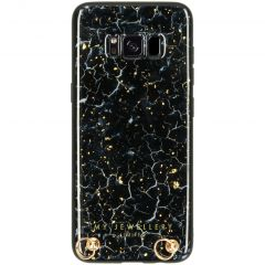 My Jewellery Marmer Hardcase Koordhoesje Samsung Galaxy S8 - Blue Marble