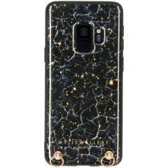 My Jewellery Marmer Hardcase Koordhoesje Samsung Galaxy S9 - Blue Marble