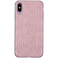 My Jewellery Croco Softcase Backcover iPhone Xs Max - Paars