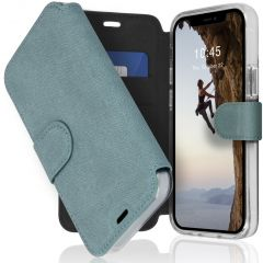 Accezz Xtreme Wallet Booktype iPhone 12 Mini - Lichtblauw