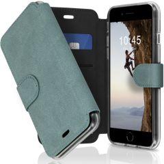Accezz Xtreme Wallet Booktype iPhone SE (2020) / 8 / 7 - Lichtblauw