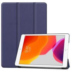 iMoshion Trifold Bookcase iPad 10.2 (2019 / 2020) - Blauw
