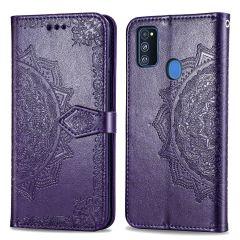 iMoshion Mandala Booktype Samsung Galaxy M30s / M21 - Paars