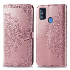 iMoshion Mandala Booktype Samsung Galaxy M30s / M21 - Rosé Goud