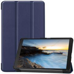 iMoshion Trifold Bookcase Galaxy Tab A 8.0 (2019) - Donkerblauw
