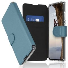 Accezz Xtreme Wallet Booktype Galaxy A50 / A30s - Lichtblauw