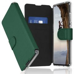 Accezz Xtreme Wallet Booktype Samsung Galaxy A70 - Donkergroen