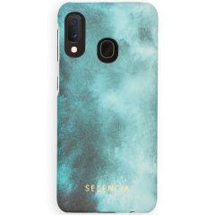 Selencia Maya Fashion Backcover Samsung Galaxy A20e - Air Blue