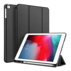 Accezz Smart Silicone Bookcase voor de iPad (2018) / (2017) / Air (2) - Zwart