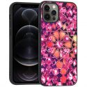 iMoshion Design hoesje iPhone 12 (Pro) - Grafisch - Roze Bling