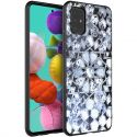 iMoshion Design hoesje Samsung Galaxy A51 - Grafisch - Zilver Bling