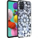iMoshion Design hoesje Samsung Galaxy A71 - Grafisch - Zilver Bling
