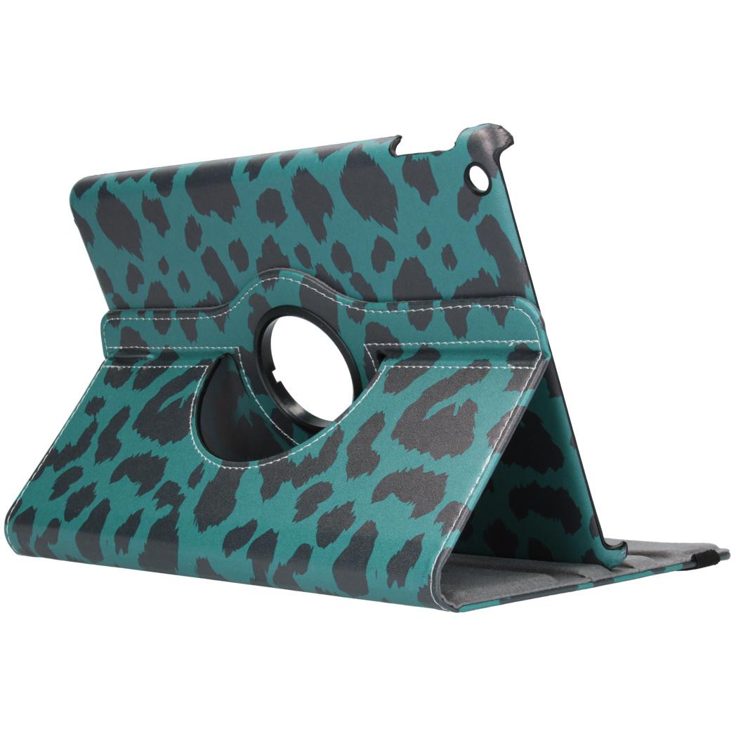 360° Draaibare Design Bookcase voor de iPad 10.2 (2019) - Leopard